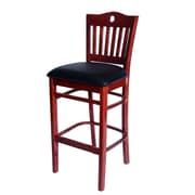 Benkel Seating Poker 30'' Bar Stool with Cushion
