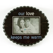 Fetco Home Decor Expressions Our Love Keeps Me Warm Photo Frame