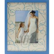 Fetco Home Decor Tabitha Photo Frame; Cornflower