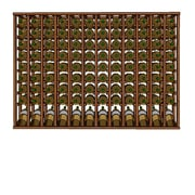 Wineracks.com Premium Cellar Series 120 Bottle Upper Wine Rack; Mahogany