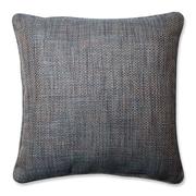 Pillow Perfect Tweak Bluestone Throw Pillow; 18'' x 18''