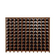 Wineracks.com Premium Cellar Series 110 Bottle Base Wine Rack; Mahogany