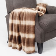 BOON Throw & Blanket Wolf Double Sided Faux Fur Throw Blanket