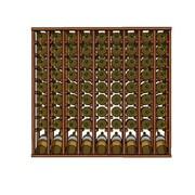 Wineracks.com Premium Cellar Series 90 Bottle Floor Wine Rack; Mahogany