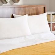 Pegasus Home Fashions EZ Dreams Natural Latex Plus Wick Away Queen Pillow (Set of 2)