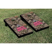 Victory Tailgate NCAA Mossy Oak Version Cornhole Game Set; South Dakota Coyotes