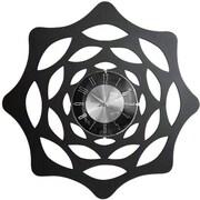 Mid Century Decor Web 20'' Translucent Clock