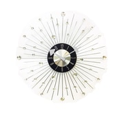 Mid Century Decor 20'' Jewel Clock