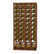 Wineracks.com Premium Cellar Series 40 Bottle Upper Wine Rack; Oak
