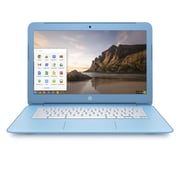 "HP Chromebook (14-Ak020nr) 14"" Intel Celeron N940 Dual-Core, 1.83 Ghz, White/Sku Blue, Chrome OS"