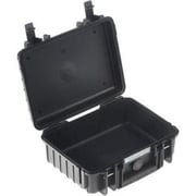 B&W Type 1000 Outdoor Case with Removable Padded Partition Inserts for GoPro Actioncam/Accessories, Black