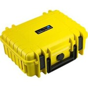 B&W Type 1000 Outdoor Case with Removable Padded Partition Inserts for GoPro Actioncam/Accessories, Yellow