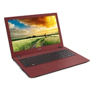 "Acer Aspire E5-573-30CW 15.6"" Laptop LCD Intel Core i3, 500GB, 4GB, Windows 10, Red"