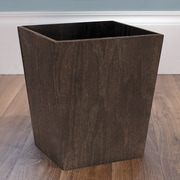 LaMont Meadow 1-Gal Riley Tapered Wastebasket; Walnut