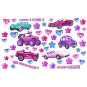 Wallhogs Girl Cars Multi-Pak Wall Decal
