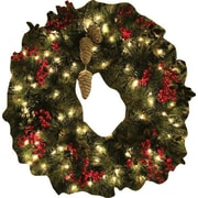 Wallhogs Wreath Cutout Wall Decal; 48'' H x 47'' W