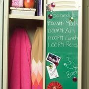 Wallies 4 Sheet Vinyl Peel and Stick Chalkboard Wall Decal; Schoolhouse Green