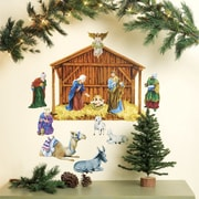 Wallies Nativity Holiday Wall Decal (Set of 2)