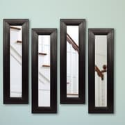 Rayne Mirrors Molly Dawn Mirror Panel (Set of 4); 29.75  H x 15.75  W