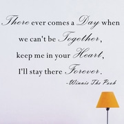 Pop Decors There Ever Comes A Day- Winnie the Pooh Wall Decal