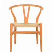 PoliVaz Wishbone Side Chair; Orange