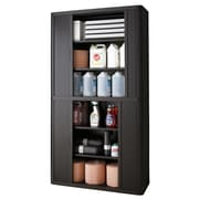 Paperflow EasyOffice 2 Door Storage Cabinet; Black