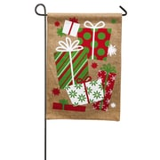 Evergreen Enterprises, Inc It's Christmas Morning Garden Flag
