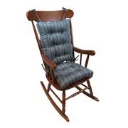 Klear Vu Scion Rocking Chair Cushion; Gray