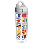 Tervis Tumbler On The Water Nautical Flags Water Bottle