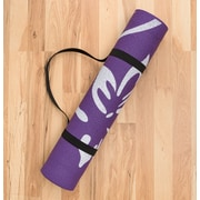 Harbormill Lotus Flower Yoga Mat; Purple