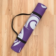 Harbormill Filigree Yoga Mat; Purple