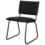 New Pacific Direct Patrick Side Chair (Set of 2); Vintage Black