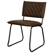 New Pacific Direct Patrick Side Chair (Set of 2); Vintage Brown