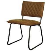 New Pacific Direct Patrick Side Chair (Set of 2); Vintage Cognac