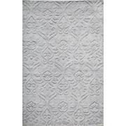 Momeni Fresco Hand-Loomed Silver Area Rug; 5' x 8'