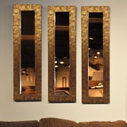 Rayne Mirrors Molly Dawn Rayne Safari Bronze Mirror Panel; 9.5 x 27.5
