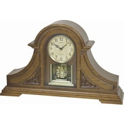 Rhythm King Mantel Clock; Light Oak