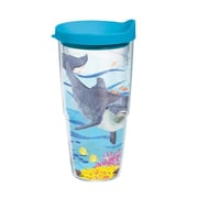 Tervis Tumbler Sun and Surf Two Can Dolphin 24 Oz. Tumbler with Lid