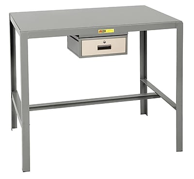 Little Giant USA Steel Top Machine Workbench with Drawer; 42'' H x 36'' W x 24'' D