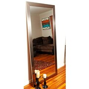 BrandtWorksLLC Designer Silver Floor Mirror