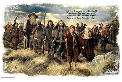 Wallhogs The Hobbit Movie Giant Mural Wall Mural WYF078278160639