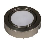 American Lighting LLC 120V LED Puck Light (Set of 5); Nickel