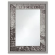 Selections by Chaumont Cosmopolitan Mirror; Paris Print