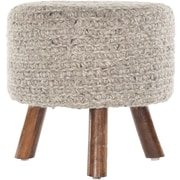 Chandra Ida Handmade Contemporary Stool; Natural