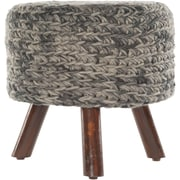 Chandra Ida Handmade Contemporary Stool; Gray