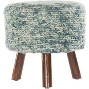 Chandra Ida Handmade Contemporary Stool; Teal