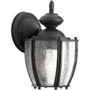 Progress Lighting Roman Coach 1 Light Wall Lantern; Black