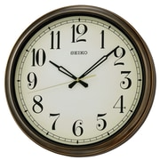 Seiko Oversized 16'' Weymouth Indoor/Outdoor Splash Resistant Wall Clock