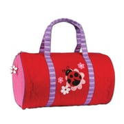Stephen Joseph Ladybug Quilted 15'' Kids Duffel