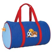 Stephen Joseph Sports Quilted 15'' Kids Duffel